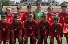 U16 nữ Việt Nam chuẩn bị cho Giải vô địch bóng đá U16 nữ châu Á