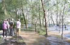 Tìm thấy thi thể một nạn nhân trong vụ chìm sà lan trên sông Tiền