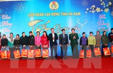 Hà Nam: Tặng 1.000 suất quà cho công nhân khó khăn dịp Tết