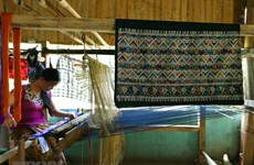 Điện Biên: Độc đáo nghề dệt thổ cẩm ở xã biên giới Pa Thơm