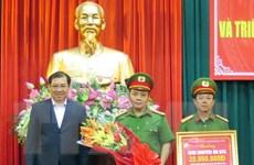 Khen thưởng đột xuất Ban chuyên án phá vụ cướp táo tợn tại Đà Nẵng