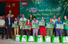 Trao 7.000 phần quà Tết tới các gia đình khó khăn ở miền Trung