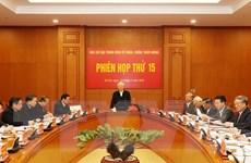 Phiên họp thứ 15 của Ban Chỉ đạo Trung ương về phòng, chống tham nhũng