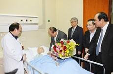 Thủ tướng Nguyễn Xuân Phúc chúc Tết một số nhà khoa học lão thành