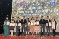 Công bố kết quả bình chọn thương hiệu Việt được yêu thích nhất