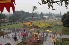 Tái hiện nghi lễ 'Tiễn cựu nghinh Xuân' tại Hoàng thành Thăng Long