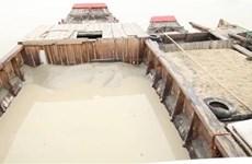 Lợi dụng thời điểm giáp Tết, kẻ gian bơm hút cát trên sông Đồng Nai