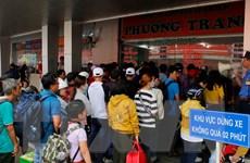 Các cửa ngõ Thành phố Hồ Chí Minh ken cứng người về quê đón Tết