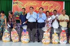 Trưởng Ban Tổ chức Trung ương Phạm Minh Chính chúc Tết tại Kiên Giang