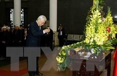 [Photo] Lễ tang nguyên Chủ tịch Hội đồng Lý luận TW Nguyễn Đức Bình