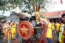 Lễ hội rước pháo Đồng Kỵ thu hút hàng nghìn du khách thập phương