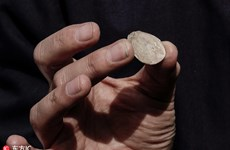 Israel phát hiện đồng tiền xu quý hiếm gần 2.000 năm tuổi