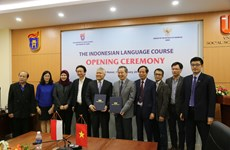 Ngôn ngữ Indonesia sẽ được giảng dạy tại Đại học Quốc gia Hà Nội