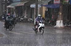Bắc Bộ và Bắc Trung Bộ mưa dông diện rộng, vùng núi có mưa lớn