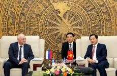Việt Nam-Nga tiến tới nâng cấp hợp tác về phòng, chống tham nhũng