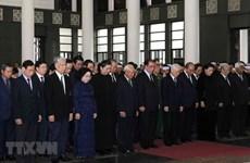 Tổ chức trọng thể Lễ tang nguyên Phó Chủ tịch QH Nguyễn Phúc Thanh