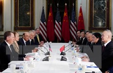 Mỹ-Trung kết thúc ngày làm việc đầu tiên trong vòng đàm phán mới