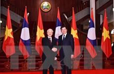 Đưa quan hệ đoàn kết đặc biệt Việt Nam-Lào ngày càng khăng khít
