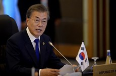 Tỷ lệ ủng hộ đối với Tổng thống Hàn Quốc Moon Jae-in tăng mạnh