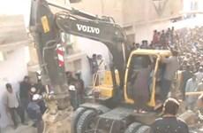 Sập nhà ở Pakistan làm ít nhất 2 người chết, 4 người bị thương