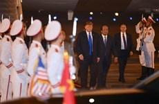 Tổng thống Hoa Kỳ Donald Trump đến Việt Nam lần thứ hai
