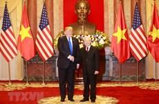 Lãnh đạo Việt Nam và Hoa Kỳ thảo luận về tình hình Biển Đông