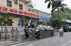 Lực lượng vũ trang Thủ đô bảo đảm an toàn cho hội nghị Mỹ-Triều