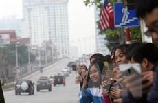 Người dân Hà Nội hào hứng chờ đón hội nghị thượng đỉnh Mỹ-Triều