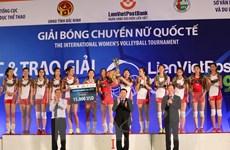 Tuyển nữ Triều Tiên vô địch Giải Bóng chuyền nữ LienVietPostBank