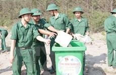 Bộ đội Biên phòng Phú Yên nhiệt tình tham gia hoạt động cộng đồng