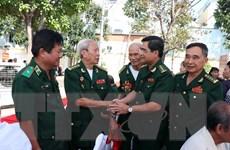 Cựu chiến binh Bộ đội Biên phòng kỷ niệm 60 năm ngày truyền thống