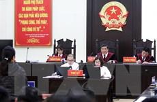 Hình ảnh xét xử phúc thẩm vụ án đánh bạc nghìn tỷ tại Phú Thọ
