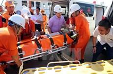 Kịp thời cứu nạn thuyền viên bị bệnh tại khu vực quần đảo Hoàng Sa