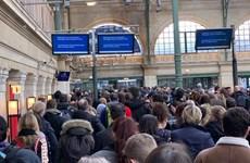 Nhân viên đình công, dịch vụ tàu cao tốc Eurostar ngừng trệ