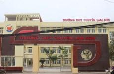 Thanh Hóa: Kết luận nhiều sai phạm tại Trường THPT Chuyên Lam Sơn