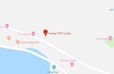 Trường Trung học phổ thông Lý Sơn ở Quảng Ngãi có nguy cơ đổ sập