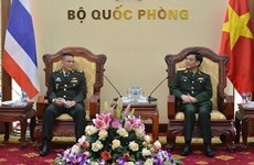 Việt Nam và Thái Lan tiếp tục mở rộng hợp tác quốc phòng