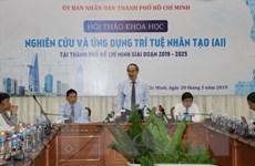 Xây dựng hệ sinh thái ứng dụng trí tuệ nhân tạo tại TP Hồ Chí Minh
