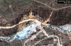 Động đất 2,8 độ gần bãi thử hạt nhân Punggye-ri của Triều Tiên