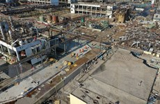 Nổ nhà máy hóa chất ở Trung Quốc: Thương vong tiếp tục tăng mạnh