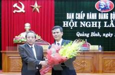 Ông Trần Thắng làm Phó Bí thư Thường trực Tỉnh ủy Quảng Bình