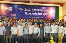 Diễn tập bảo vệ hệ thống thông tin ở Thành phố Hồ Chí Minh