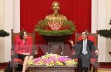 Việt Nam-Canada tăng cường hợp tác về năng lượng sạch, công nghệ cao