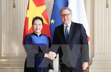 [Photo] Hoạt động của Chủ tịch Quốc hội Nguyễn Thị Kim Ngân tại Pháp