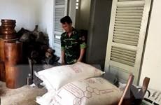 Bắt giữ số lượng lớn hàng nhập lậu từ Campuchia về Việt Nam