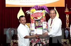 Phó Thủ tướng thăm chư Tăng, Phật tử Nam tông và đồng bào Khmer