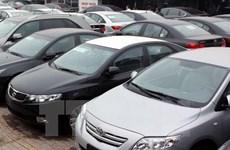 Sức tiêu thụ ôtô nhập khẩu nguyên chiếc tăng mạnh trong quý 1