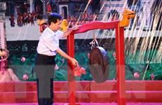 """Tái hiện khung cảnh tấp nập """"trên bến dưới thuyền"""" của Phố Hiến xưa"""