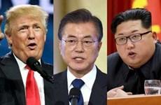 """Đàm phán hạt nhân Mỹ-Triều: Ông Moon Jae-in thành """"người trợ giúp"""""""