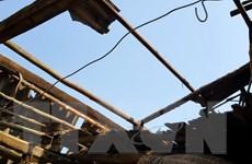 Thái Nguyên: Hàng trăm ngôi nhà bị thủng, tốc mái vì dông lốc